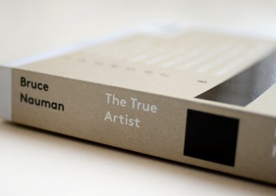 Bruce Nauman: The True Artist, Peter Plagens